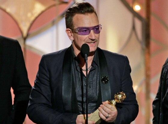 Bono, Golden Globe 2014, Winner