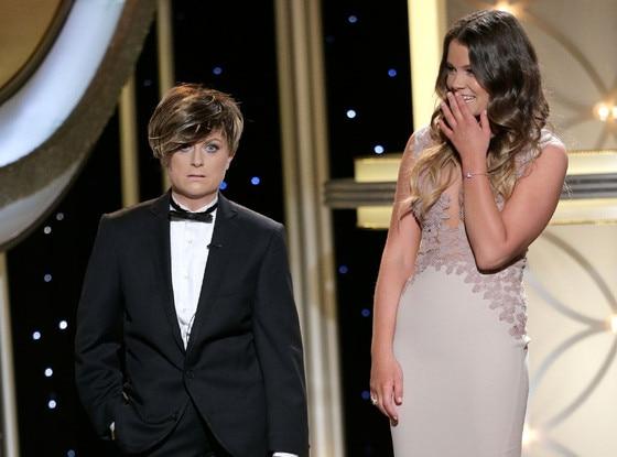 Amy Poehler, Miss Golden Globe Sosie Bacon, Golden Globe Awards Show