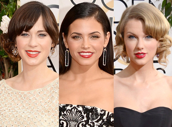 Golden Globe Awards Red Lips