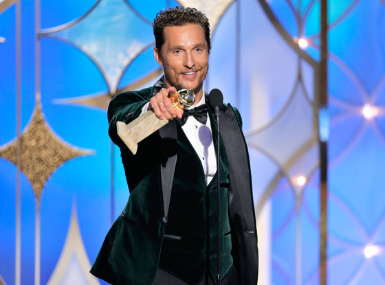 Matthew McConaughey, Golden Globes 2014, Winner