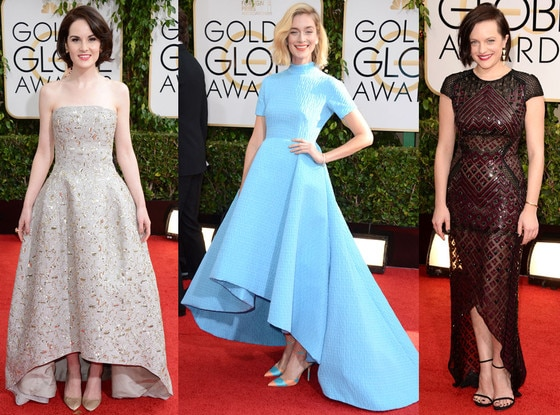 Hi-Low Hemline, Golden Globe Awards