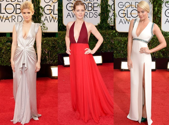 Plunging Neckline, Golden Globe Awards