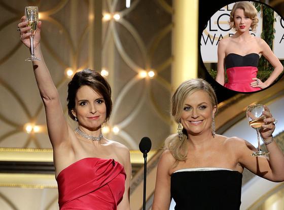 Taylor Swift, Tina Fey, Amy Poehler, Golden Globe Awards