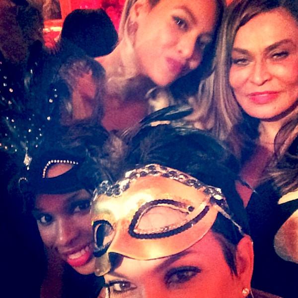 Kris Jenner, Jennifer Hudson, Beyonce