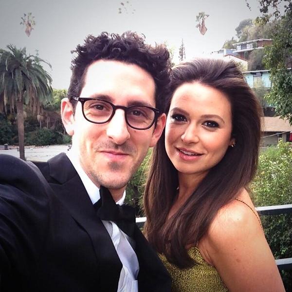Adam Shapiro, Katie Lowes, Twitter
