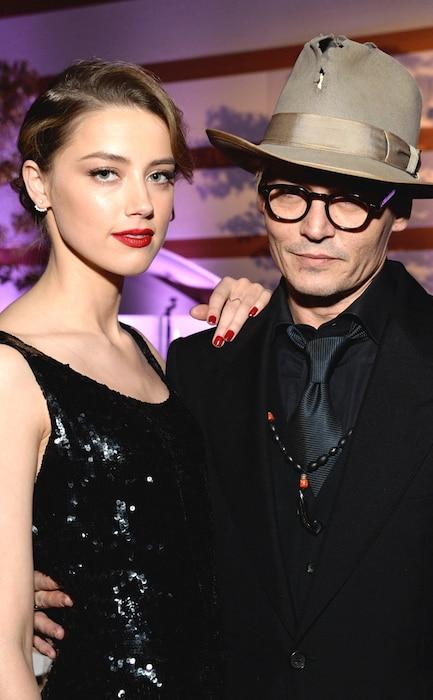 Johnny Depp, Amber Heard. Perrier-Jouët, The Art Of Elysium's 7th Annual HEAVEN Gala
