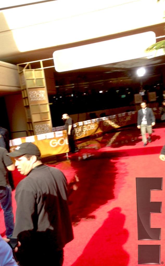 Golden Globe Red Carpet Leak