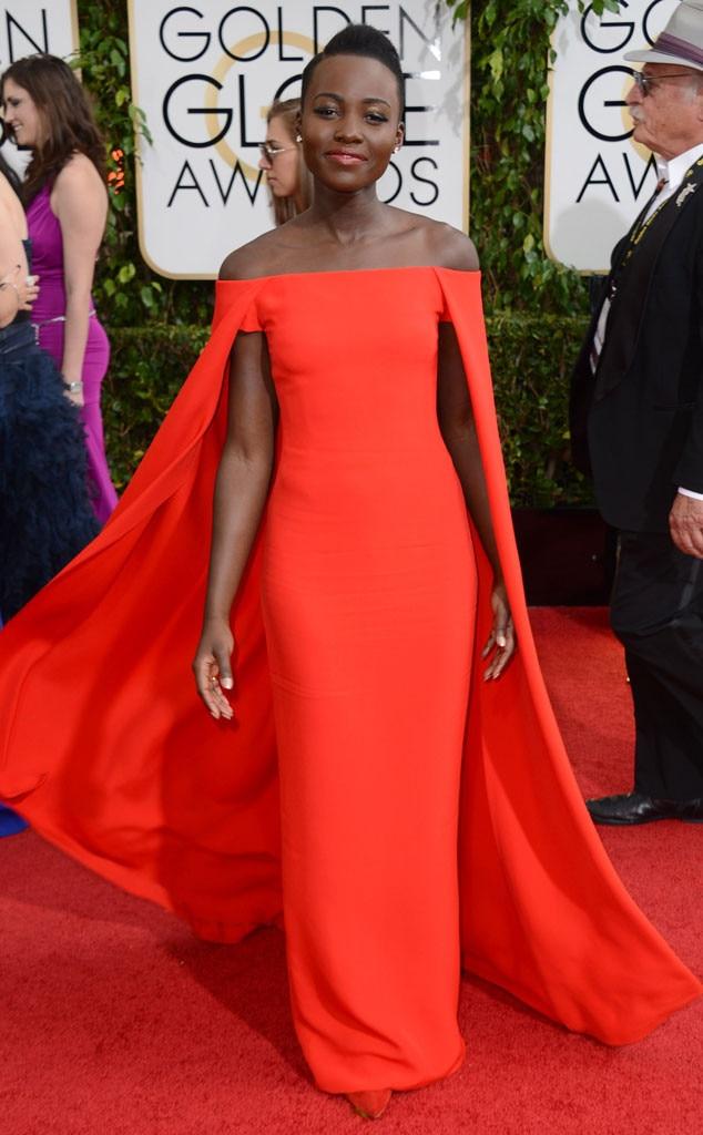 Lupita Nyong'o, Golden Globes 2014