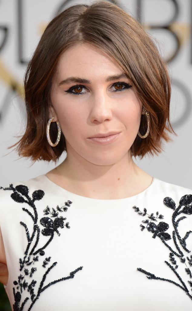 Zosia Mamet, Golden Globes, Head shot