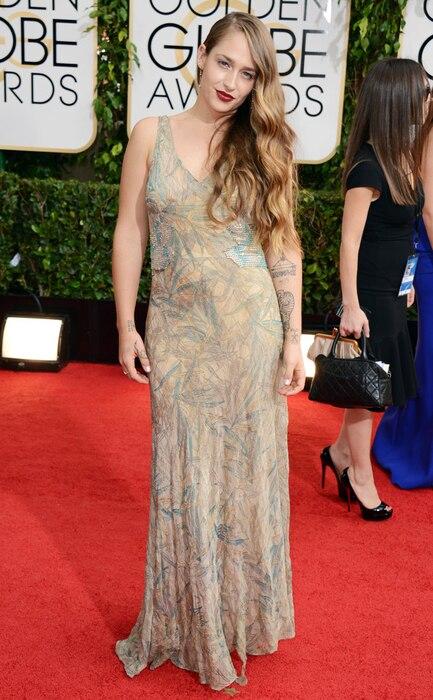 Jemima Kirke, Golden Globes