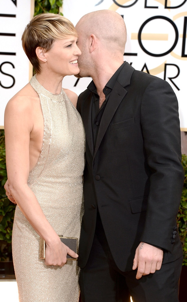 Robin Wright & Ben Foster from 2014 Golden Globes: Celeb ...