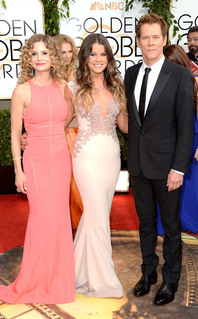 Kyra Sedgwick, Miss Golden Globe, Sosie Bacon, Kevin Bacon, Golden Globes