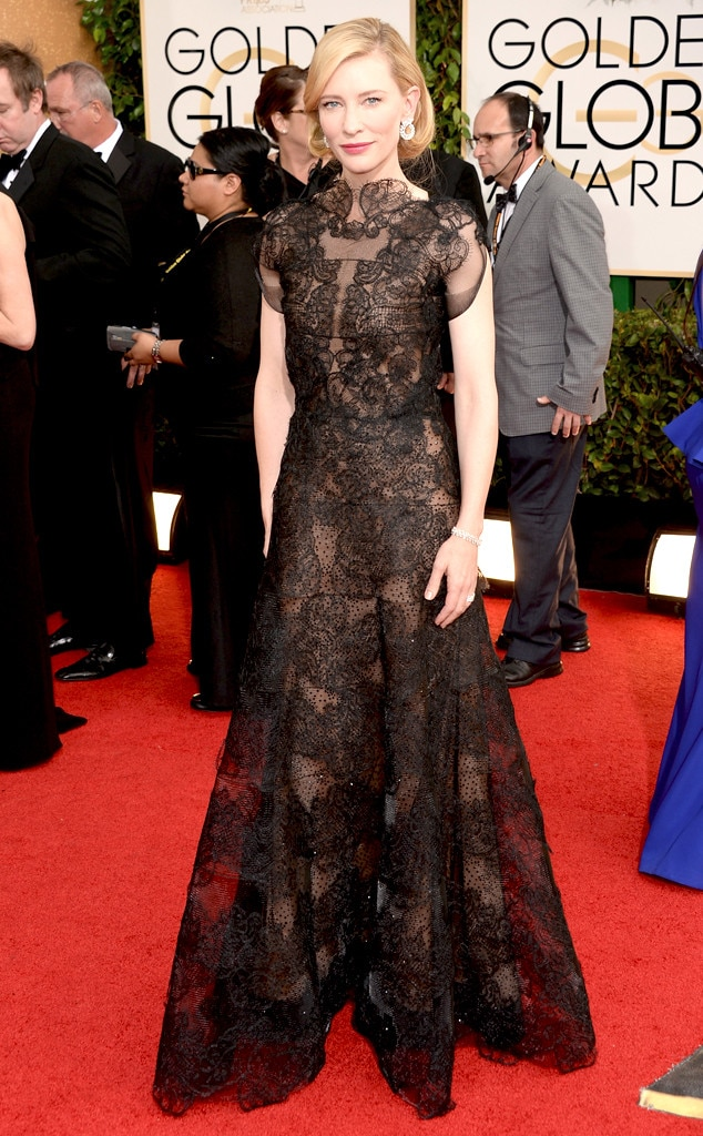 Cate Blanchett, Golden Globes Dress Predictions