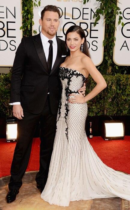 Channing Tatum, Jenna Dewan Tatum, Golden Globes 2014