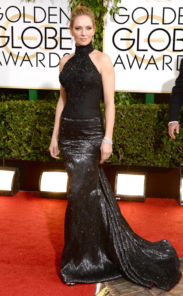 Uma Thurman, Golden Globes