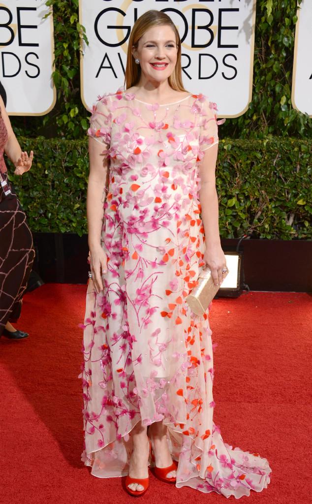 Drew Barrymore, Golden Globes 2014