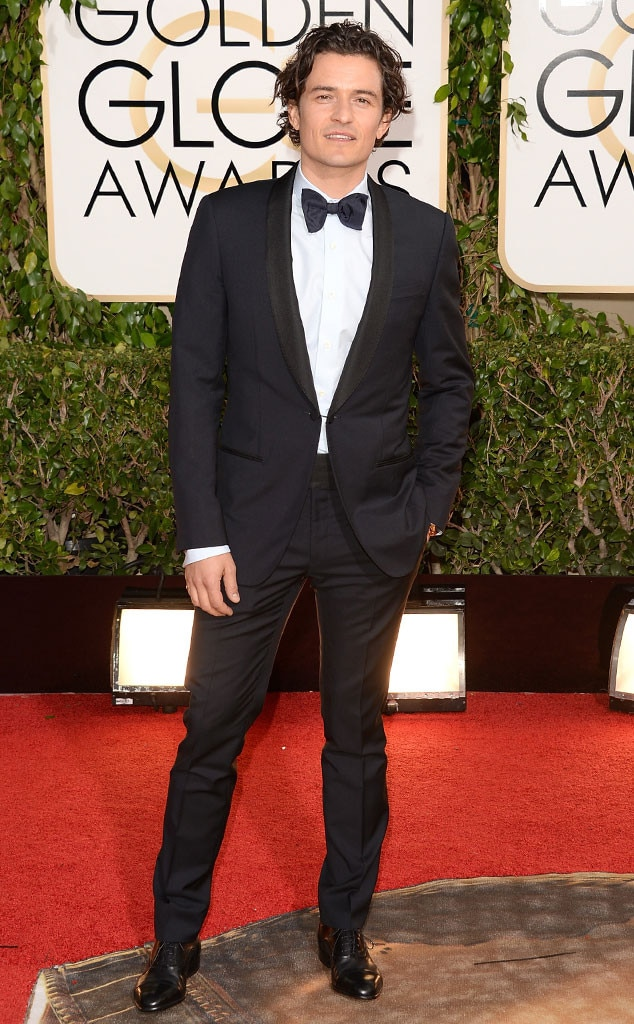 Orlando Bloom, Golden Globe 2014
