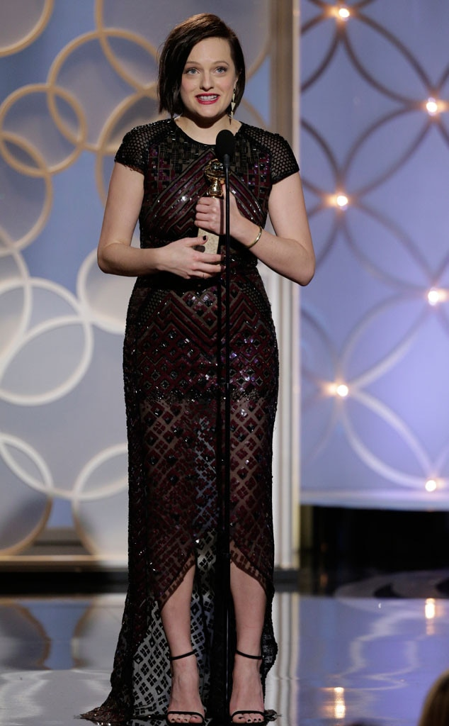 Elisabeth Moss, Golden Globes 2014, Winner
