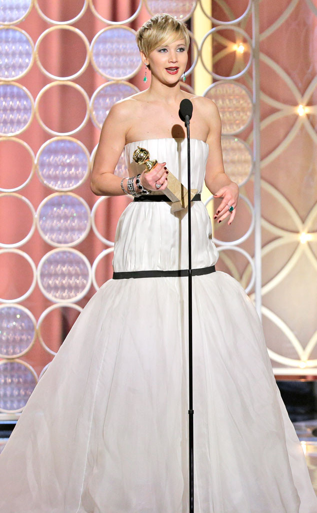 Jennifer Lawrence, Golden Globes 2014, Winner