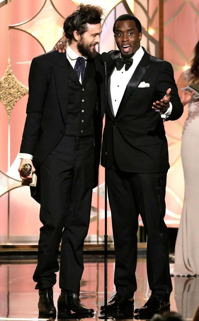 Alex Ebert, Sean Diddy Combs, Golden Globes