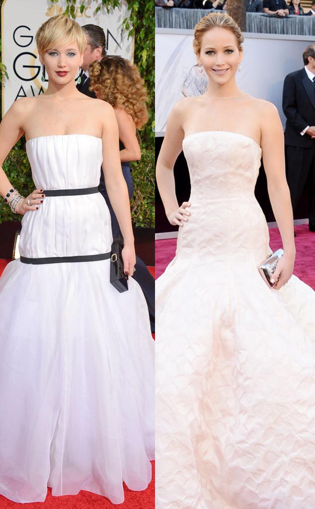 Jennifer Lawrence, Golden Globes 2014