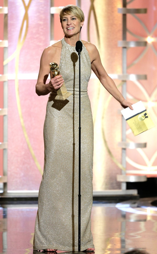 Robin Wright, Golden Globe Awards
