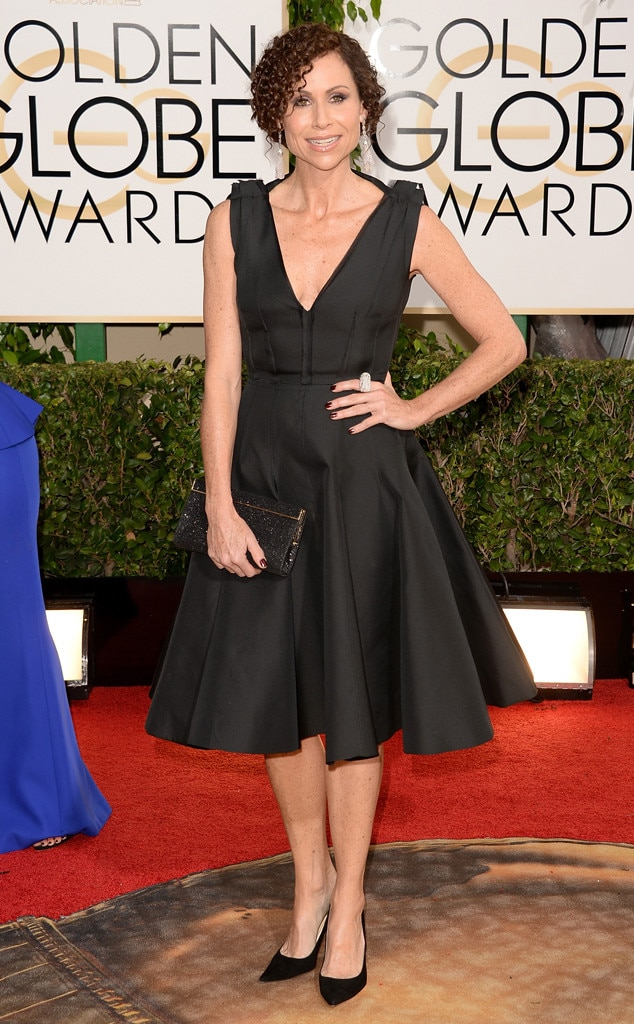 Minnie Driver, Golden Globes 2014