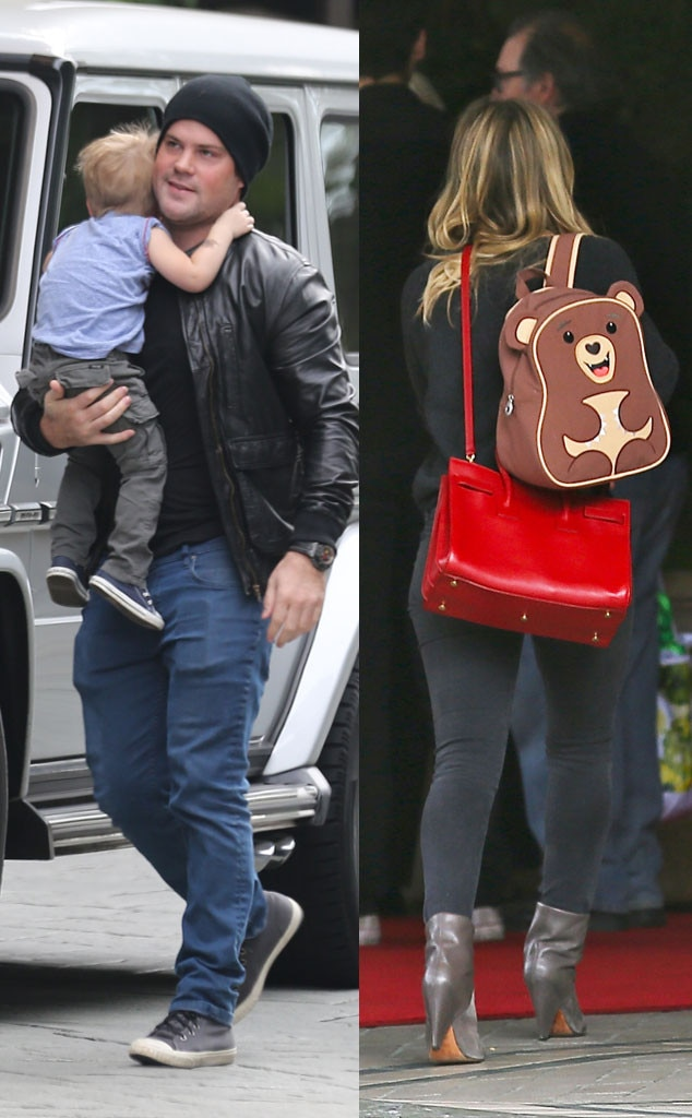 Hilary Duff, Luca Comrie, Mike Comrie