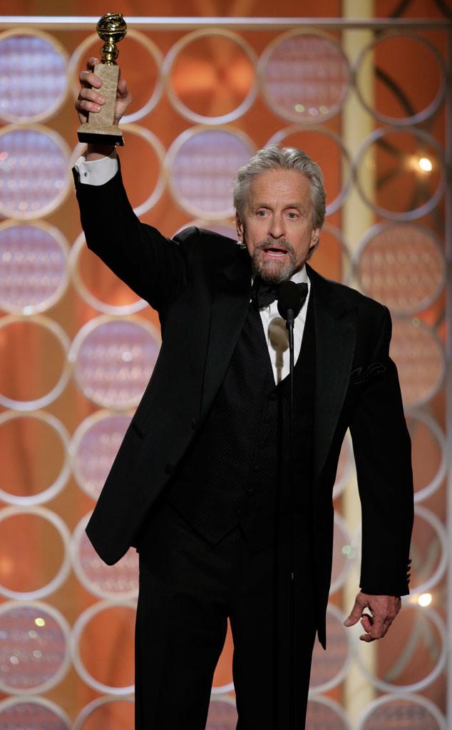 Michael Douglas, Golden Globes 2014, Winner