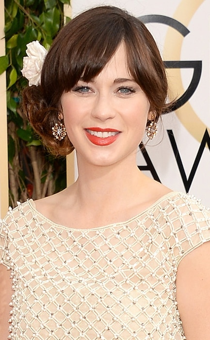 Zooey Deschanel, Golden Globe Awards