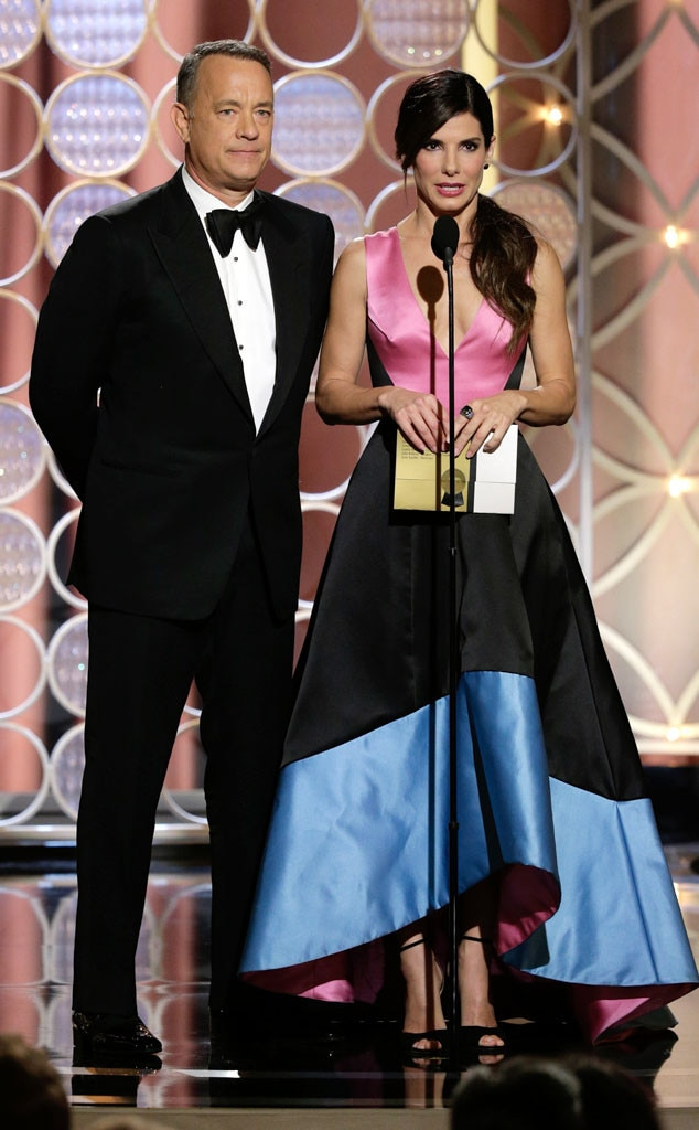 Tom Hanks, Sandra Bullock, Golden Globe Awards Show