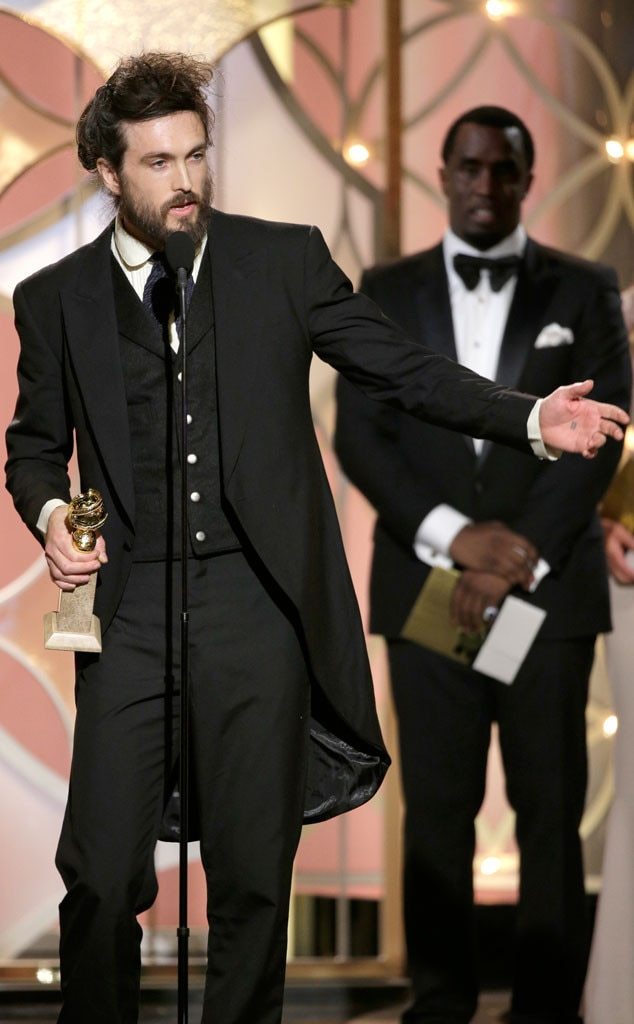Alex Ebert, Golden Globe Awards, Winner