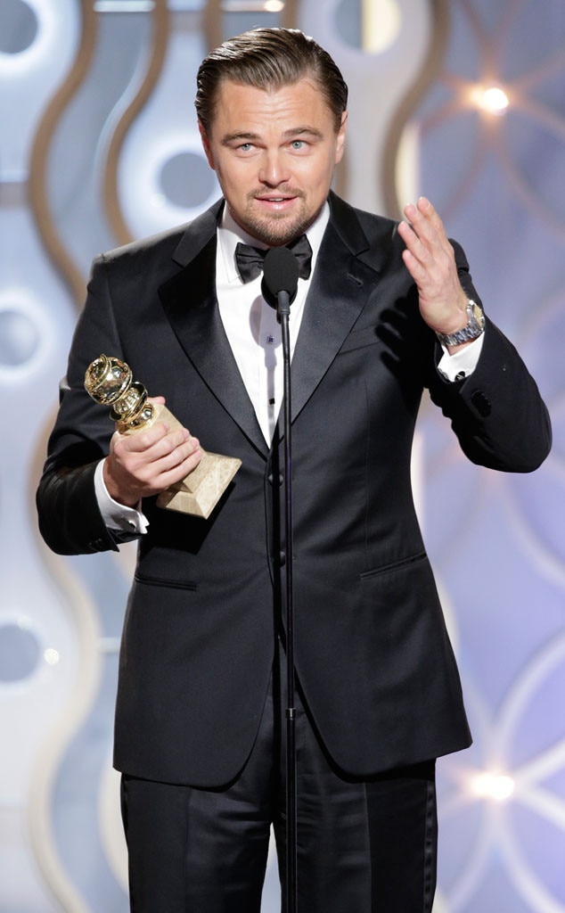 Leonardo Dicaprio From 2014 Golden Globes Winners E News