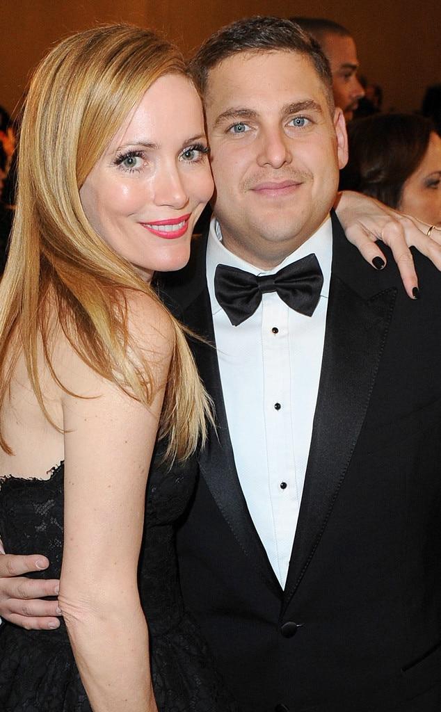 Leslie Mann, Jonah Hill, Golden Globes 2014