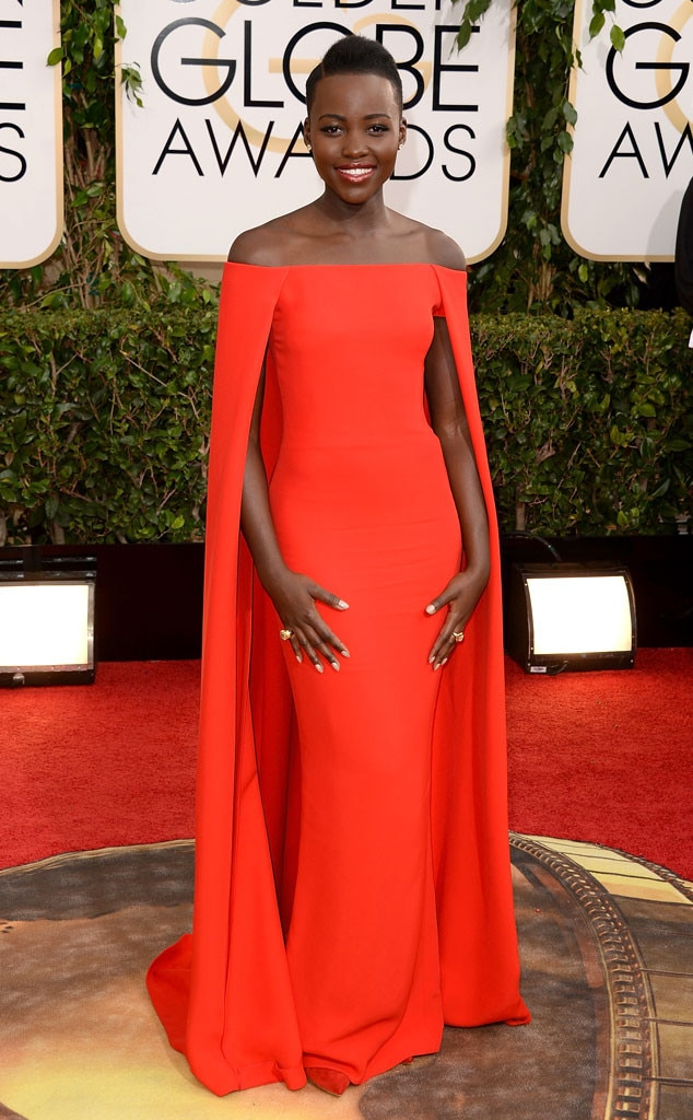 Lupita Nyongo, Golden Globe Awards, Ralph Lauren