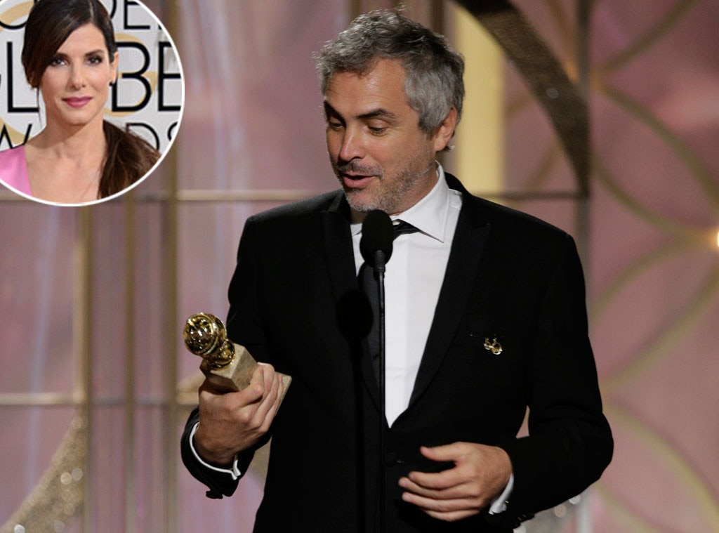 Alfonso Cuaron, Sandra Bullock, Golden Globe Awards, Winner