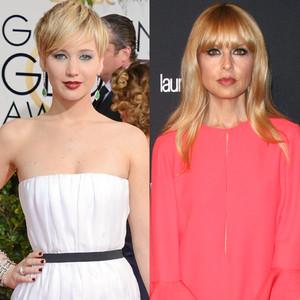 Jennifer Lawrence, Rachel Zoe, Golden Globes 2014
