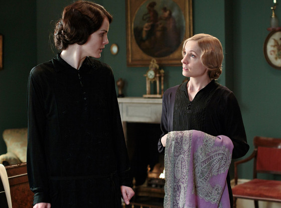 Michelle Dockery, Joanne Froggatt, Downton Abbey