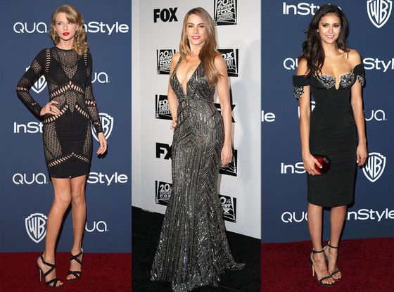 Taylor Swift, Sofia Vergara, Nina Dobrev, Golden Globes After Party