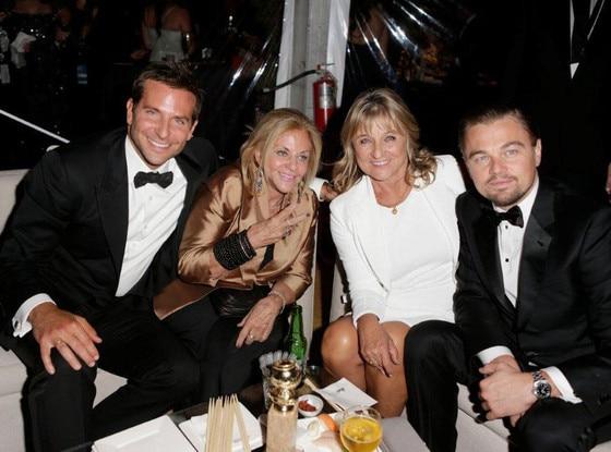 Bradley Cooper, Gloria Campano, Leonardo DiCaprio, Irmelin Indenbirken