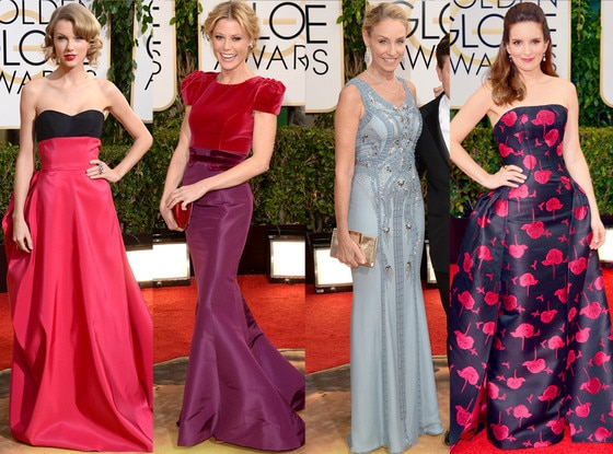 Carolina Herrera, Golden Globes