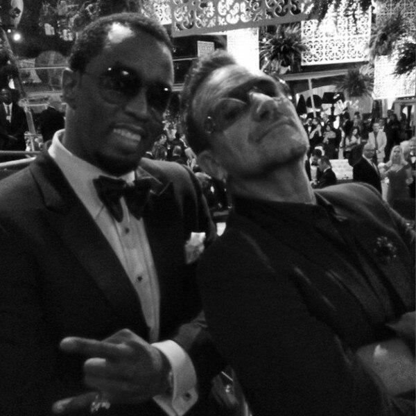 2014 Golden Globes Twitpics Instagrams