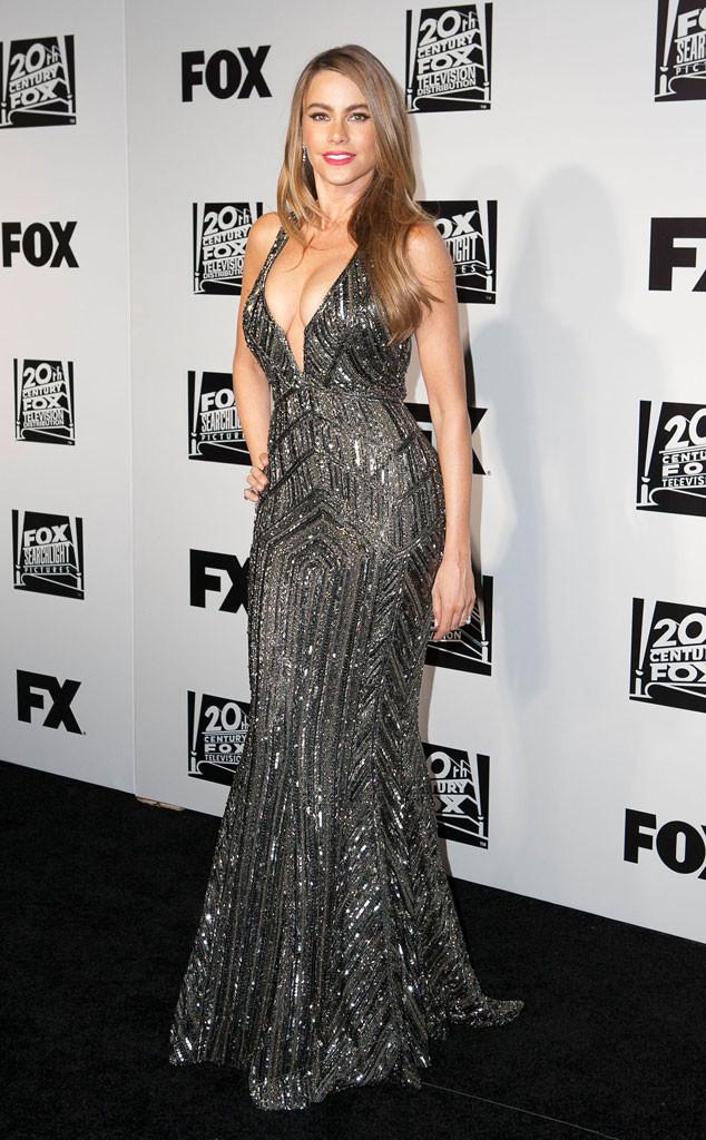 Sofia Vergara, Golden Globes 2014 Fox After Party