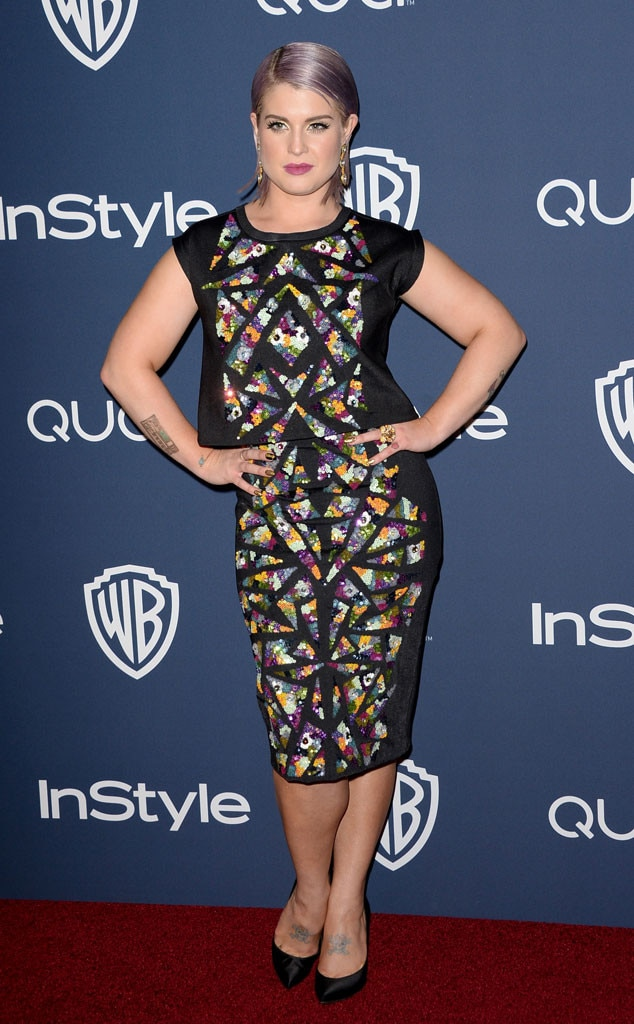 Kelly Osbourne, Golden Globes 2014 InStyle After Party