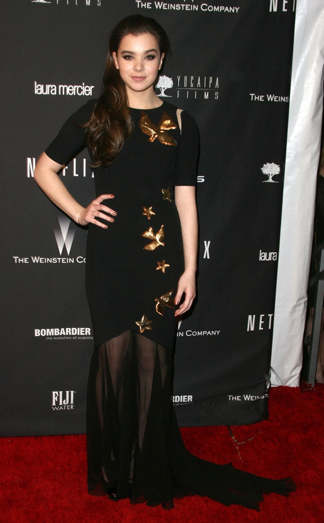 Hailee Steinfeld, Golden Globes 2014 Weinstein After Party