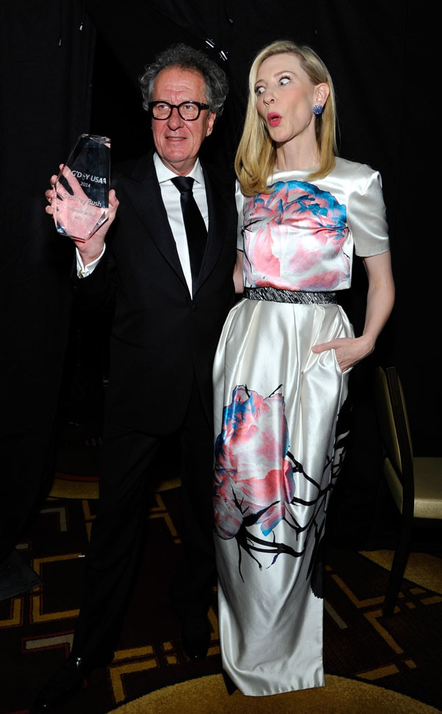 Geoffrey Rush, Cate Blanchett