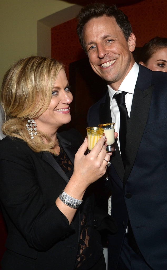 Amy Poehler, Seth Meyers