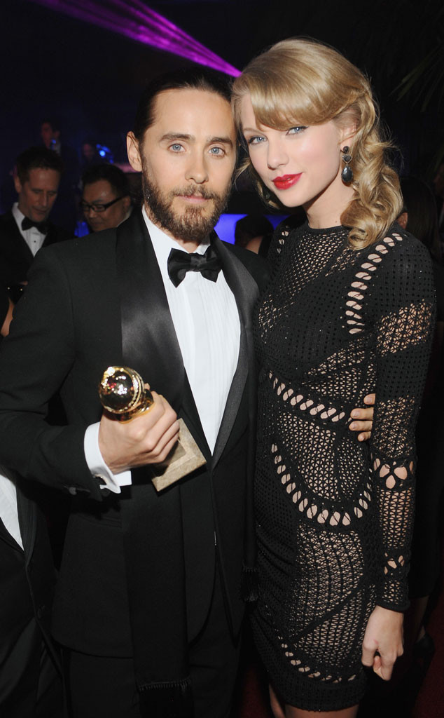 Jared Leto, Taylor Swift, Golden Globe Party