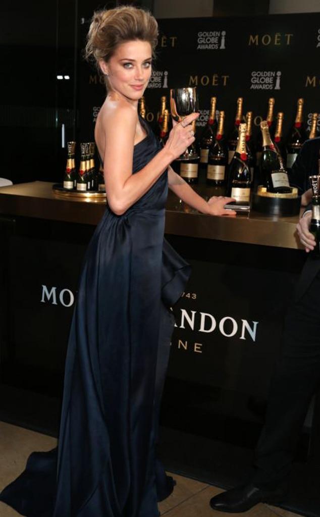 Amber Heard, Moet
