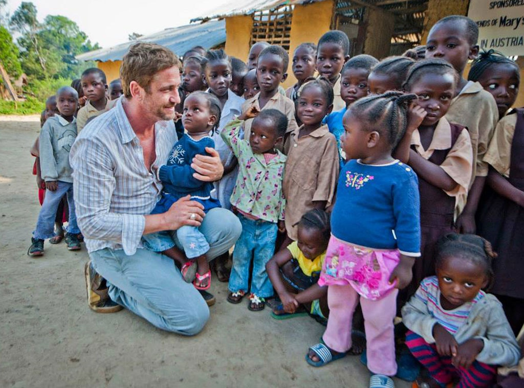 Gerard Butler, Mary's Meals, Do-Gooder